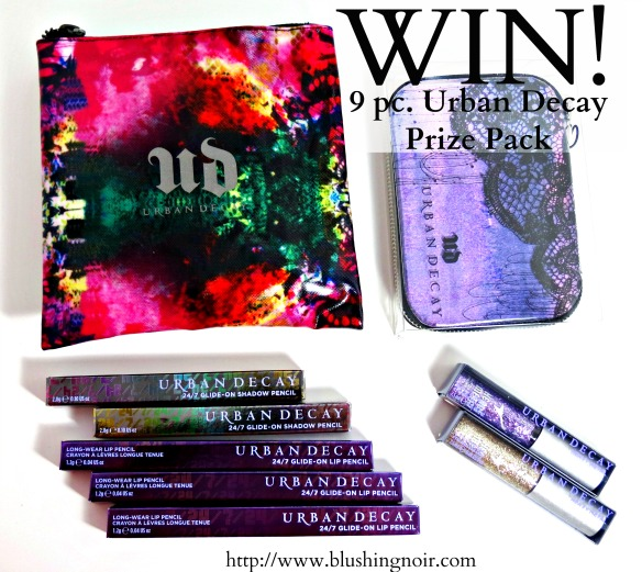 Urban Decay Makeup Prize Pack Giveaway