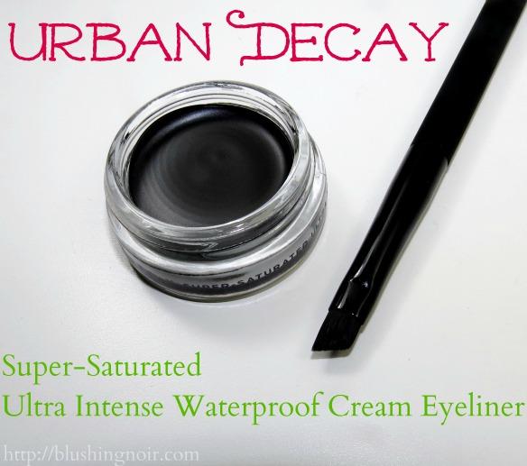 Urban Decay Perversion Super-Saturated Ultra Intense Waterproof Cream Eyeliner Angled Brush