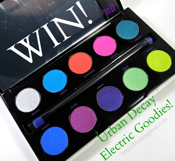 WIN Urban Decay Electric Pressed Pigment Palette
