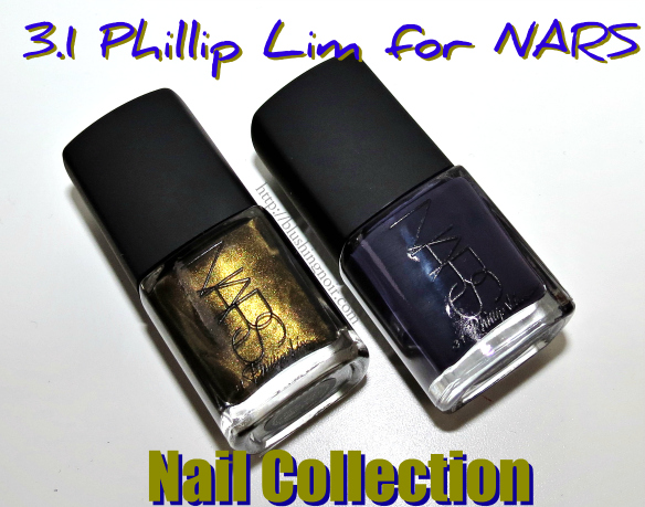 3.1 Phillip Lim for NARS Nail Collection swatches review