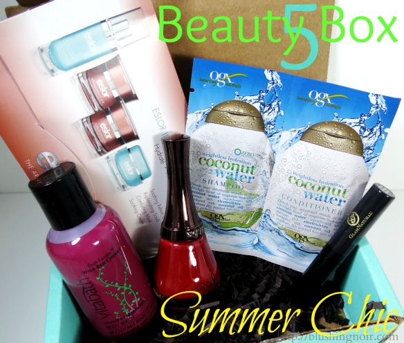 Beauty Box 5 June 2014 Swatches Review
