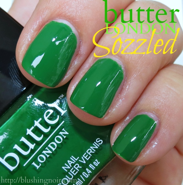 Butter London Sozzled Nail Polish Swatches