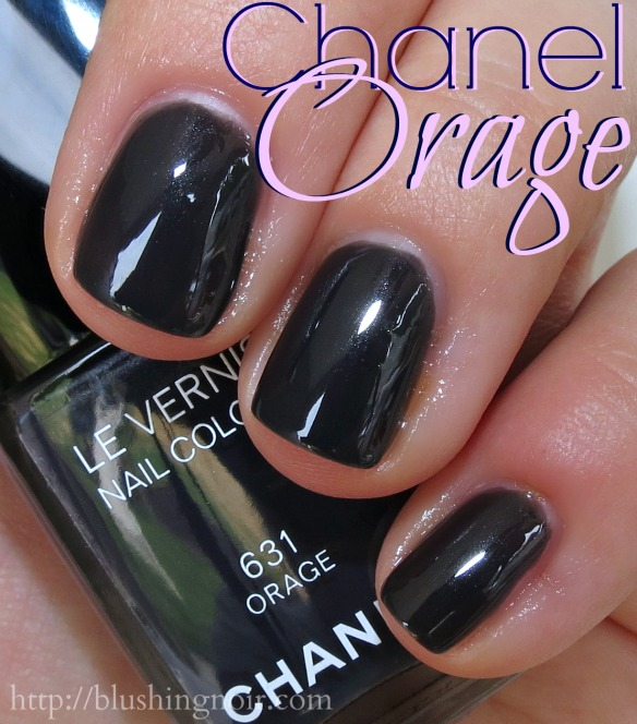 Chanel 631 ORAGE Le Vernis Nail Polish Swatches