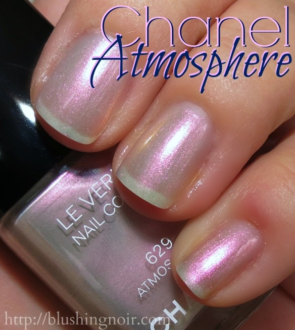 Chanel Atmosphere Le Vernis Nail Polish Swatches