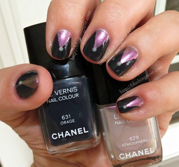 Chanel Orage Atmosphere Etats Poetiques Nail Art Fall 2014