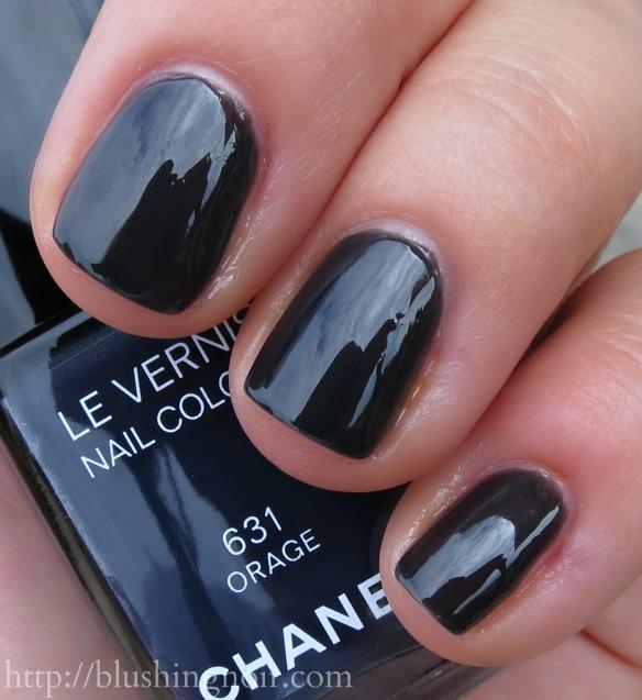Chanel Orage Nail Polish Swatches