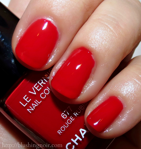 Chanel Rouge Rubis Le Vernis Nail Polish Swatches
