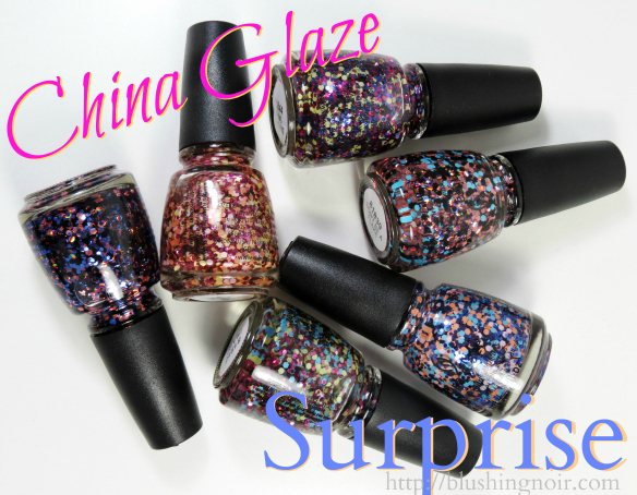 China Glaze Surprise Nail Polish Collection Swatches Review