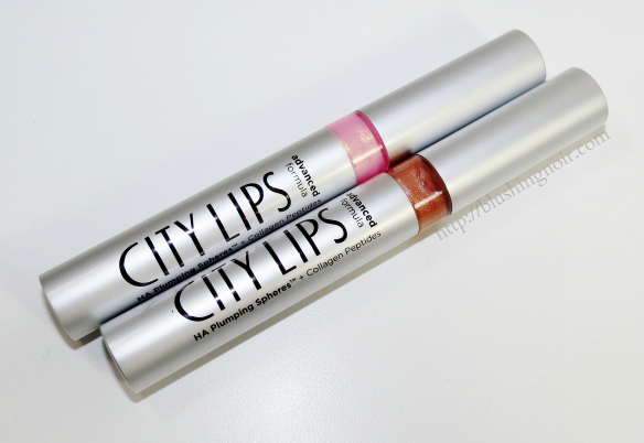 City Lips Lip Plumping Treatment Swatches Review