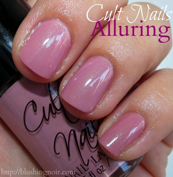 Cult Nails Alluring Nail Polish Swatches
