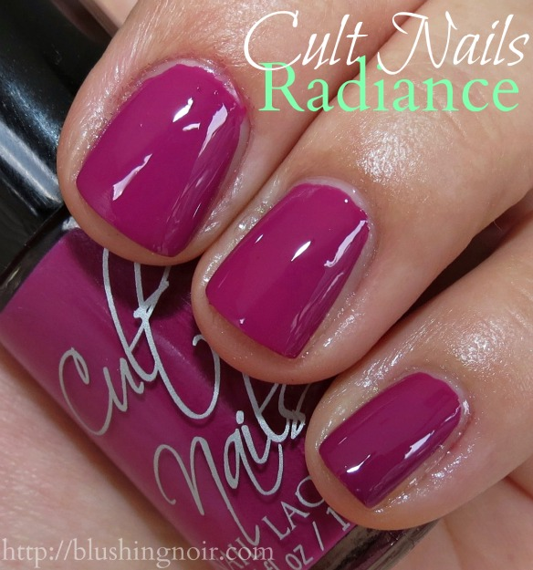 Cult Nails Radiance Nail Polish Swatches