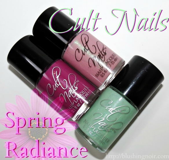 Cult Nails Spring Radiance Nail Polish Collection Review