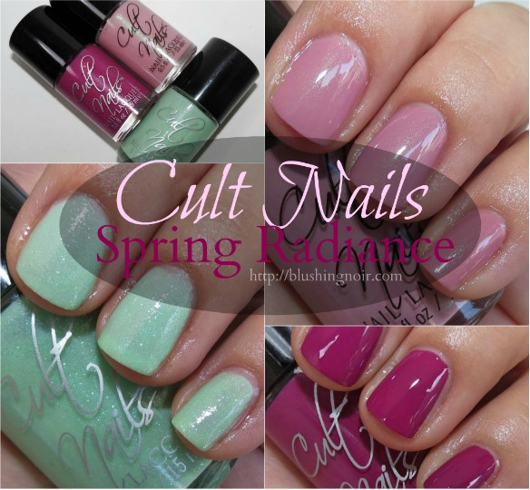 Cult Nails Spring Radiance Nail Polish Collection Swatches Review