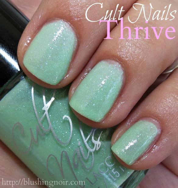 Cult Nails Thrive Nail Polish Swatches