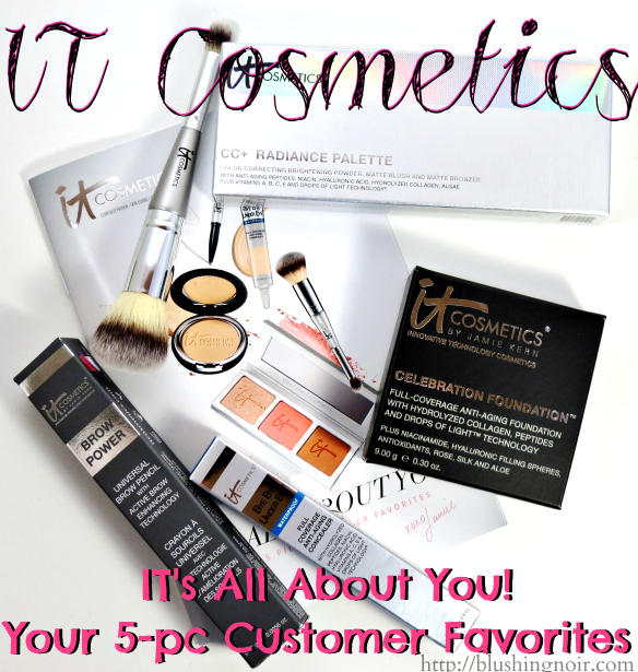 IT Cosmetics  IT's All About You! Your 5-pc Customer Favorites Review
