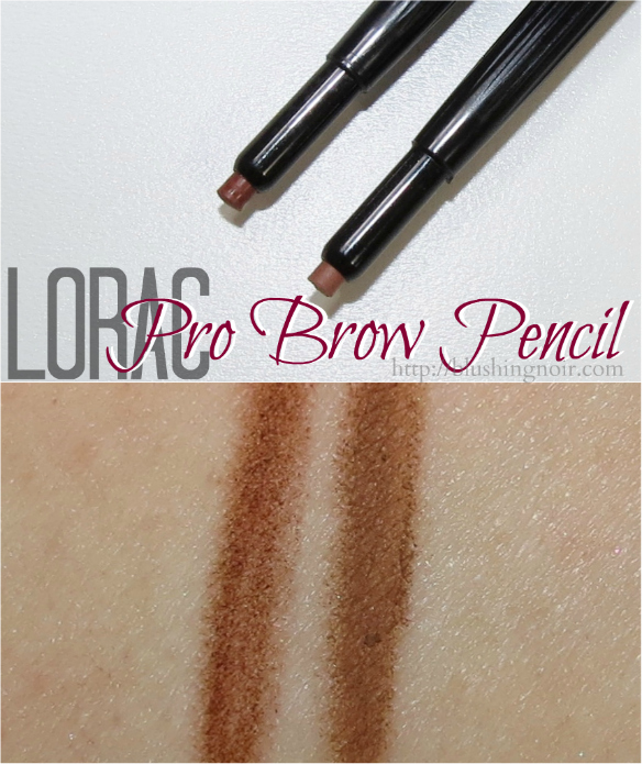 LORAC Pro Brow Pencil Swatches