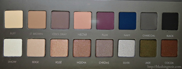 LORAC Pro Palette 2 eye shadows