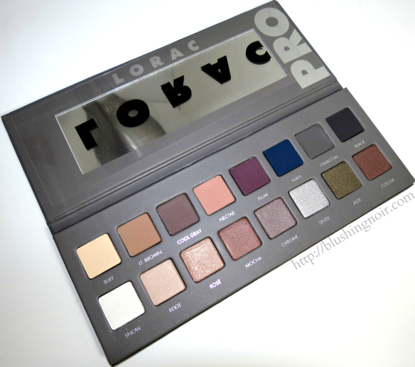 LORAC Pro palette 2 swatches review photos
