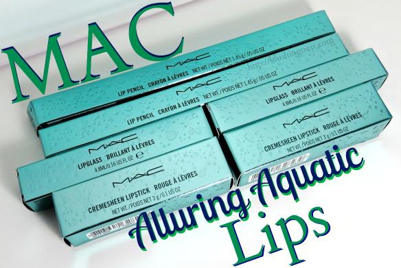 MAC Alluring Aquatic Lips
