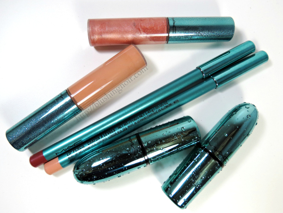 MAC Alluring Aquatics Lip Product Review Swatches