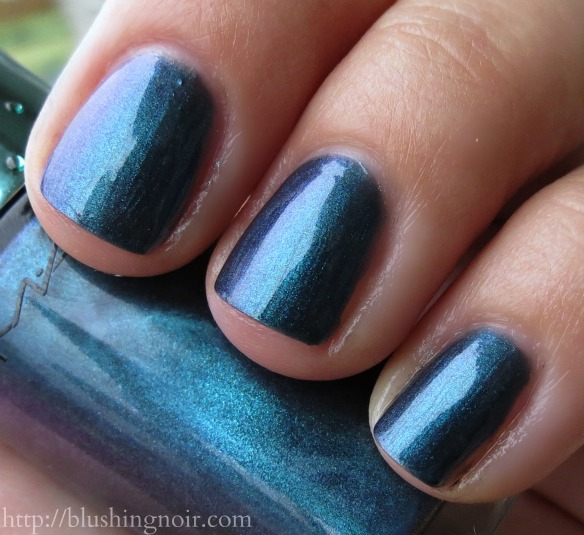 MAC Submerged Nail lacquer swatches