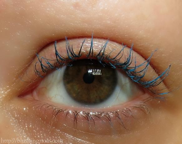 Milani Mediterranean Blue Lash Art Colored Mascara Eye