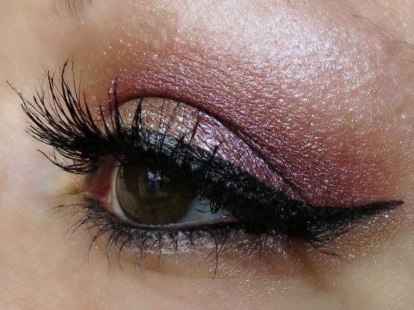 NARS Dual-Intensity Eyeshadow look