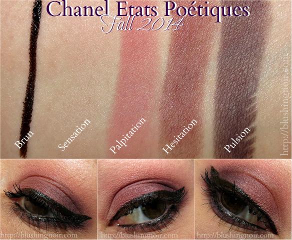 Chanel États Poétiques Collection Swatches EOTD