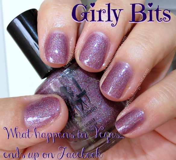 Girly Bits What Happens in Vegas Ends Up On Facebook Swatches
