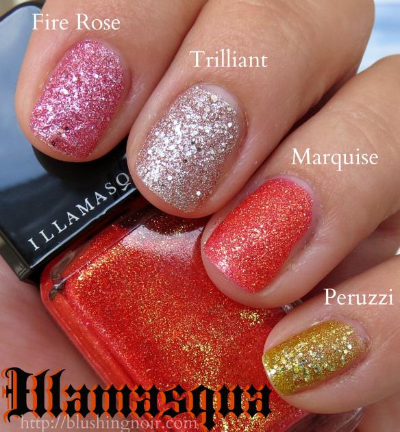 Illamasqua Shattered Star Nail Polish Swatches
