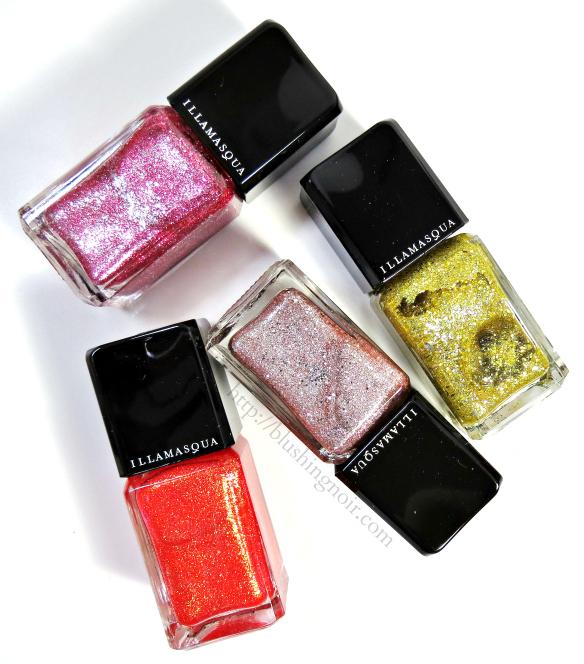 Illamasqua Shattered Star nail polish collection review