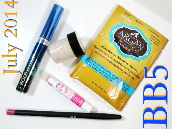 BEAUTY BOX 5 Photos, Swatches & Review – July 2014