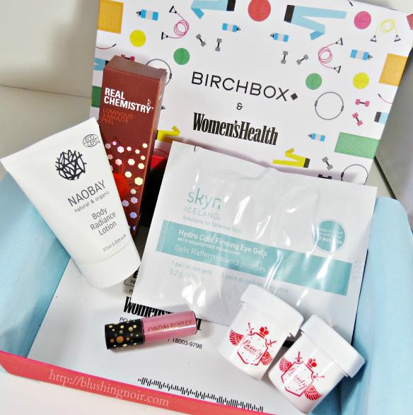July 2014 Birchbox whats inside