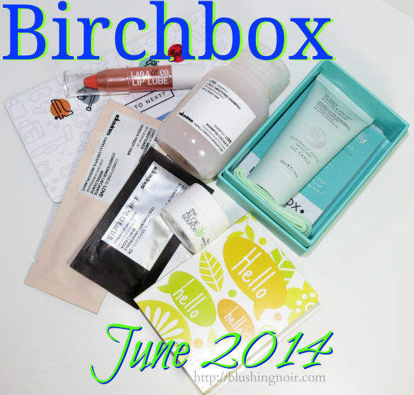 June 2014 Birchbox Swatches Review