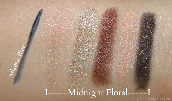 Lancome Jason Wu Midnight Floral Swatches