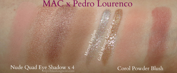 MAC Pedro Lourenco Collection Swatches
