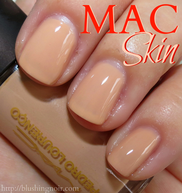 MAC Skin Nail Polish Swatches