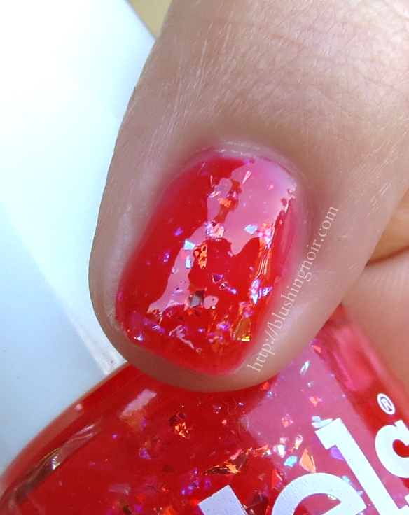 Models Own Red Sea Nail Polish Swatches