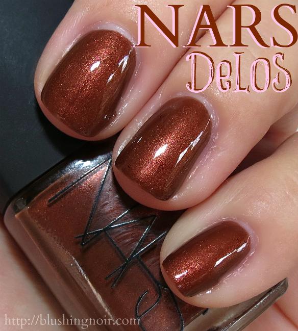 NARS Delos Nail Polish Swatches