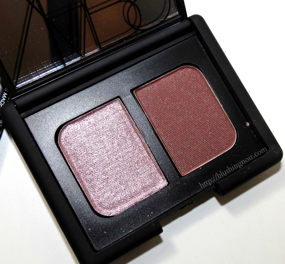 NARS Dolomites Duo Eyeshadow Swatches Review