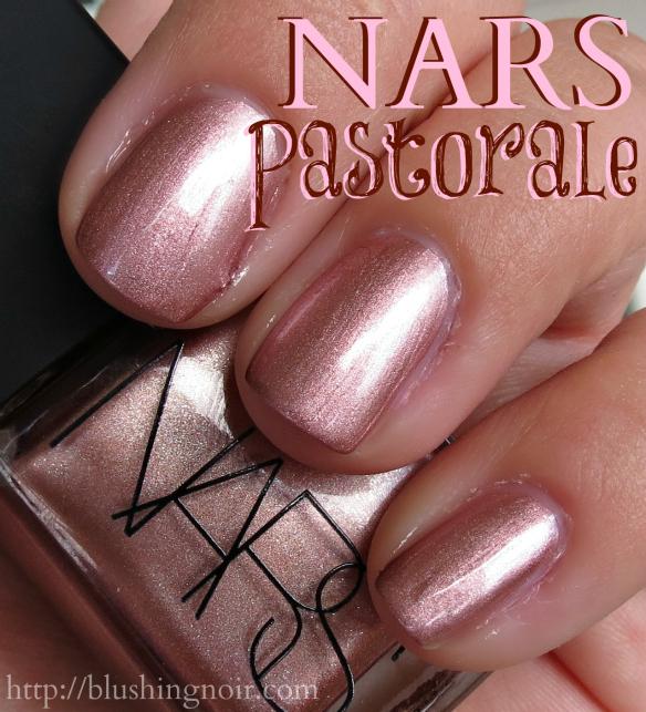 NARS Pastorale Nail Polish Swatches