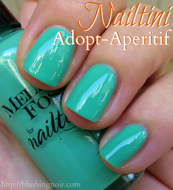 Nailtini Adopt-Aperitif Nail Polish Swatches