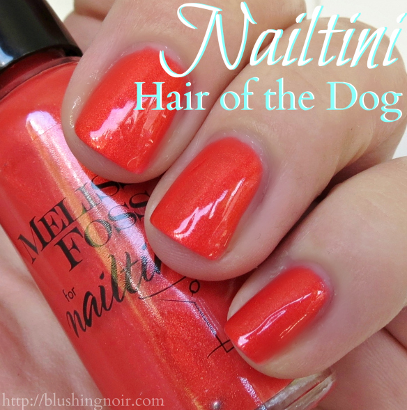 Nailtini Hair of the Dog Nail Polish Swatches