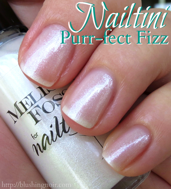 Nailtini Purr-fect Fizz Nail Polish Swatches
