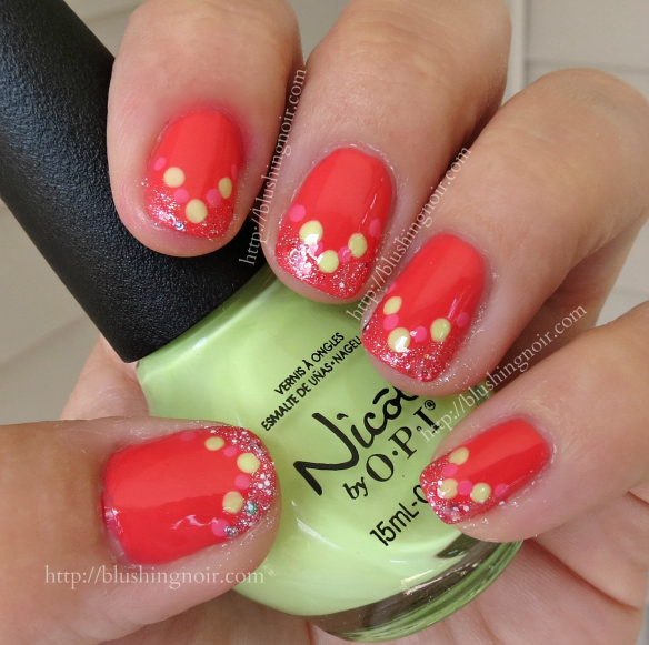 Nicole by OPI Seize the Summer Nail Polish Swatches Nail Art