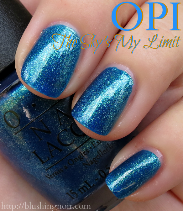OPI The Sky's My Limit Nail Polish Swatches