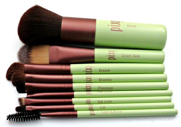 Pixi Beauty Brush Collection Review