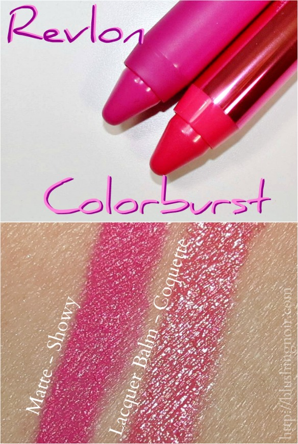 Revlon Colorburst Swatches
