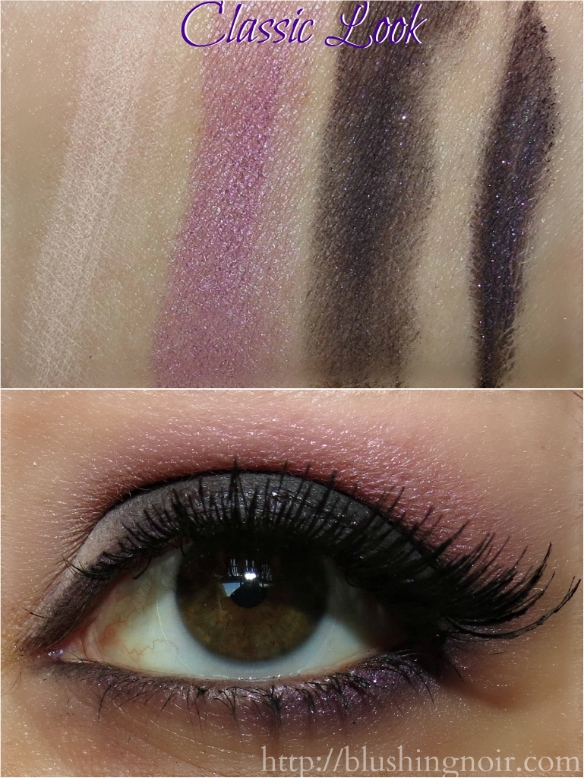 Too Faced Cat Eyes Palette Classic Look Swatches