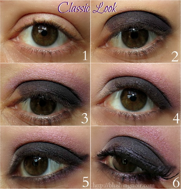Too Faced Cat Eyes Palette Classic Look Tutorial